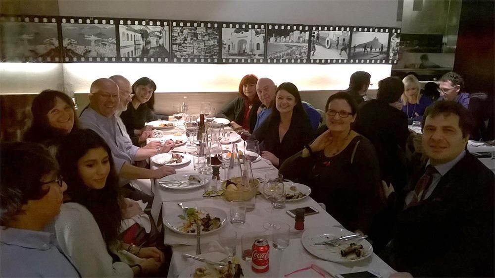 VERONA: prof. Piero Crispiani e specialisti del Centro Studi Itard con la dott.ssa Kate Saunders (President of British Dyslexia Association How Dyslexics learn, Teacher Training)
